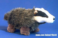 Badger Stuffed Animal Plush Toy