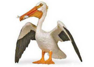 Pelican Toy Bird Miniature