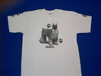 Schnauzer T Shirt Salt and Pepper