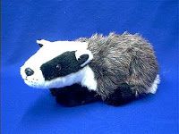 Badger Toy Stuffed Animal Plush