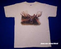 Moose T Shirts by Anwo Animal World