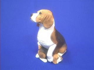 Beagle Statue Figurine Sandicast Forever Friends
