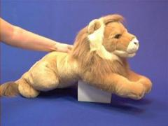 large lion stuffed toy plush animal