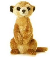 Aurora Meerkat Plush Stuffed Animal Toy