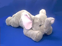 Jumbo Large Elephant Stuffed Animal Plush Toy