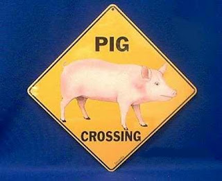 Pig Sign Animal Crossing