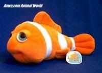 Clownfish Stuffed Animal Plush Toy Fun