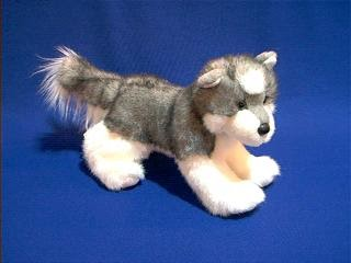 Joli Siberian Husky Stuffed Animal Plush Toy