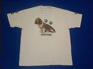 Basset Hound T Shirt USA