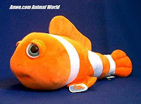 Large Clownfish Stuffed Animal Plush Toy
