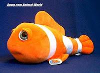 Large Clownfish Stuffed Animal Plush Toy