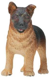 Puppy German Shepherd Toy Figurine Statue