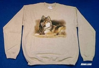 Wolf Sweatshirt USA