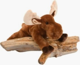 Moose Plush Stuffed Animal Toy Withers