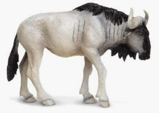 Wildebeest Toy Miniature Safari