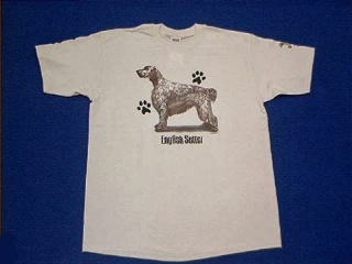 English Setter T Shirt USA