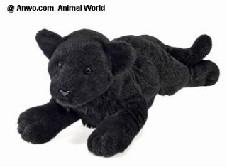 Black Panther Plush Stuffed Animal Toy