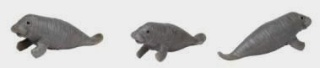 Manatee Toy Mini Good Luck Miniature