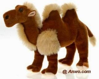 Bactrian Camel Plush Stuffed Animal Toy