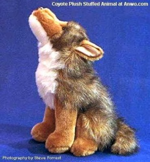 Coyote Plush Stuffed Animal Toy