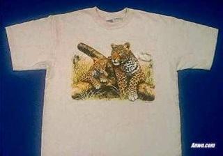 Leopard T Shirt Sweatshirt