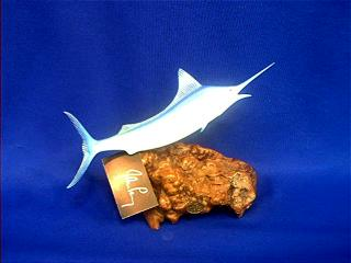 John Perry Marlin Figurine Statue at Anwo.com Animal World
