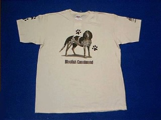 Bluetick Coonhound T Shirt