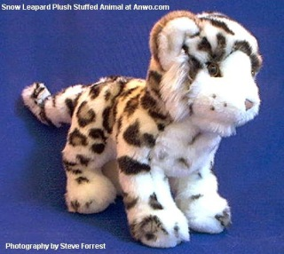 Snow Leopard Plush Stuffed Animal Toy Irbis