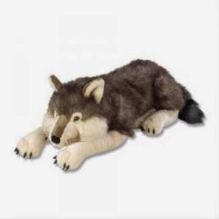 Jumbo Large Wolf Plush Stuffed Animal Animal Gifts