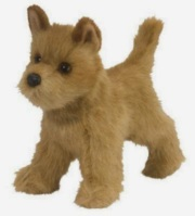 Cairn Terrier Plush Stuffed Animal Toy Dandy