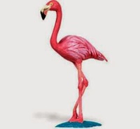 Flamingo Toy Miniature Replica