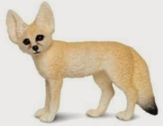 Fennneck Fox Toy Miniature Replica