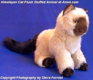 Himalayan Cat Stuffed Animal Plush Toy