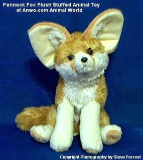 Fenneck Fox Plush Stuffed Animal Toy